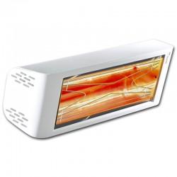 Infrarot-Heliosa Hi Design 44 weißen Carrara 1500W IPX5 Heizung