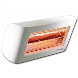 Infrarot-Heliosa Hi Design 55 weiße Carrara 1500W IPX5 Heizung