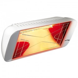 Heating infrared Heliosa Hi Design 66 white Carrara 2000W IPX5
