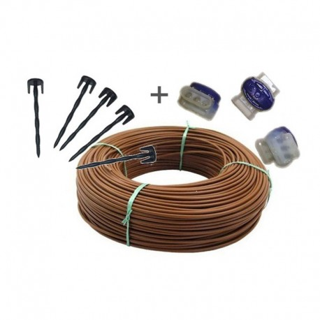 Kit wire Perimetral 300 m with nails for Robot mower Ambrogio