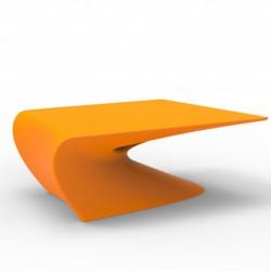 Niedriger Tischtracht Vondom Orange Matte