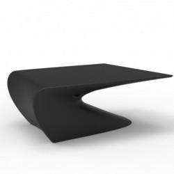 Low Table Design Flügel Vondom schwarz Matt