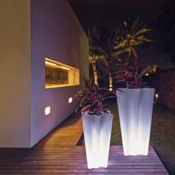 Набор из 2 светящихся баков бай бай Вондом привел белую высоту 70 и 100