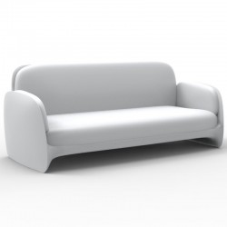 Couch sofa Vondom Pezzettina white mat