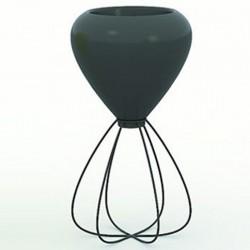 Pot spaghetti planter basic Vondom black
