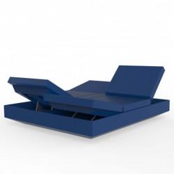 Deckstuhl Vela Tagesbett Recliner Vondom Navy Blue