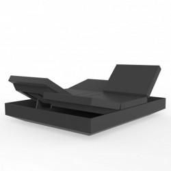 Liegende Couch Vela Tagesbett Vondom Anthrazit