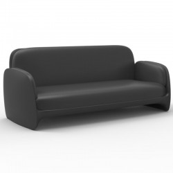 Couch sofa Vondom Pezzettina anthracite Matt