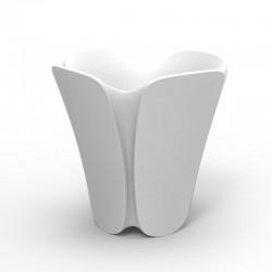 Pot Jardinière Design Pezzettina Vondom Blanc 50x50xH85