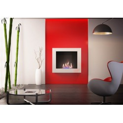 Kamin Bioethanol modernen Dual White Neoflame