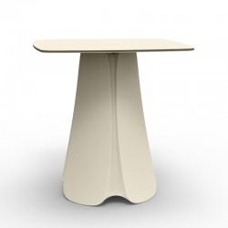 Table Design Pezzettina Vondom Ecru 90x90xH72