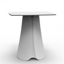 Design table Pezzettina Vondom white 80x80xH72