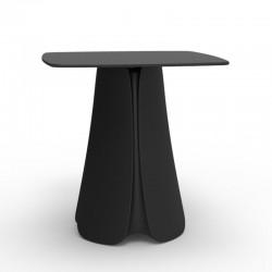 Table Design Pezzettina Vondom Noir 80x80xH72