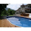 Oval Pool Azuro Luxury PoolMarina Freestanding or Buried 9.1x4.6x1.2