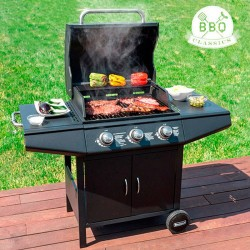 Gas barbecue with Gril Savorcook Outdoor