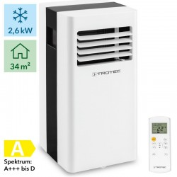 Trotec Mobile PAC 2600 X air conditioner up to 85 m3