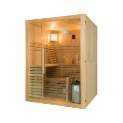 Gaïa Nova 6-seater outdoor sauna with Harvia stove 8 kW