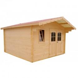 Хабрита Твердый деревянный сад жилья 16 кв.м и 28 мм доски