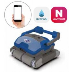 VIRTUOSO V600A electric pool cleaner robot with smartphone app