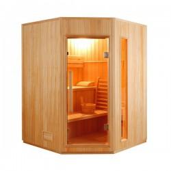 Sauna steam angular Zen 3-4 seats - Selection VerySpas