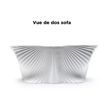 Outdoor sofa BIOPHILIA Vondom - white