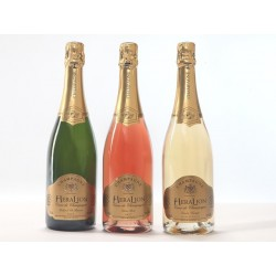 Champagne HeraLion Mix Selection gold Sheen, pink and Vintage - 3 Btles desire