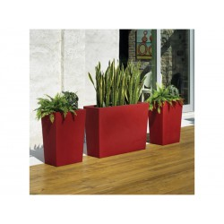Töpfe von außen Gratiano 50 rot BaySeasons Design