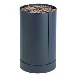Lagerung Pellet Holz Fractio grauen Sand design neunzehn