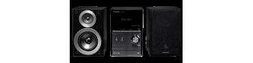 Stereoanlage und Lautsprecher