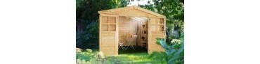 Garten und Storage-Schuppen
