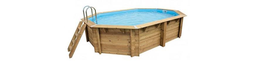Holz-pools