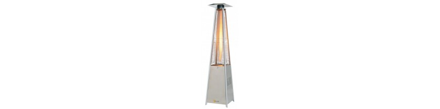 Outdoor gas heater