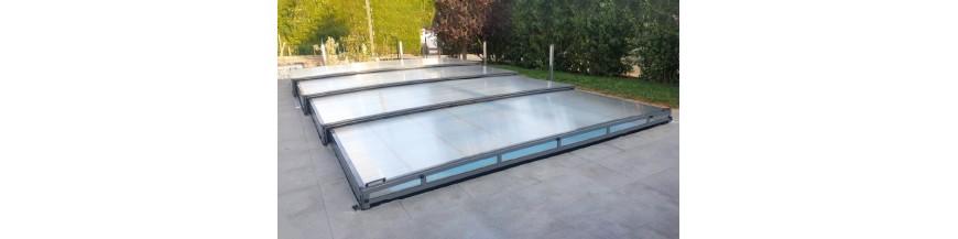 Schwimmbad-Überdachung