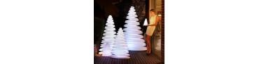 Möbel und Lichtobjekte