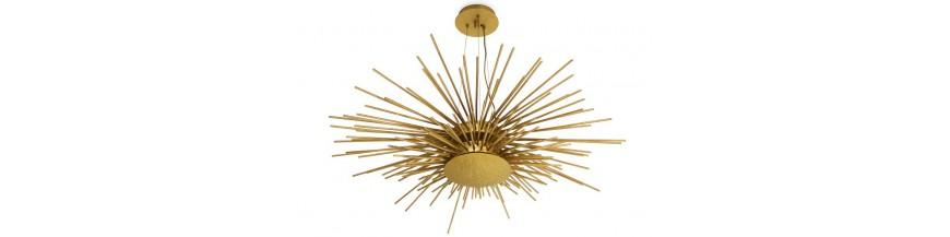 Leuchten, Lampen, Federung und Kronleuchter Design